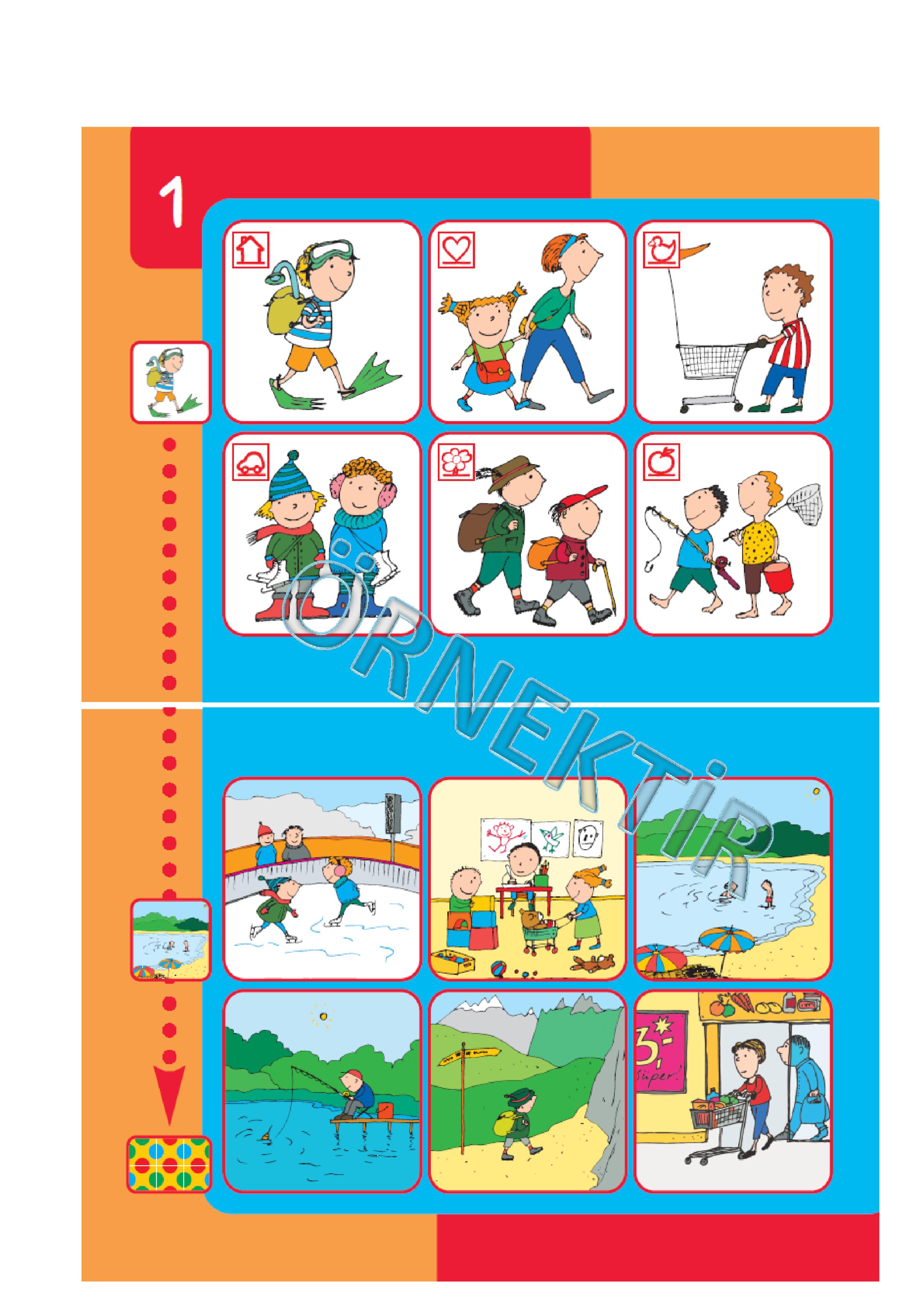 bambinoYUP 4+ Yaş Eğitim Seti| Resimleri Eşleştirelim | 1. Etkinlik